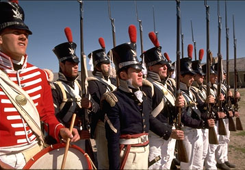 soldiers at Historic Fort Snelling